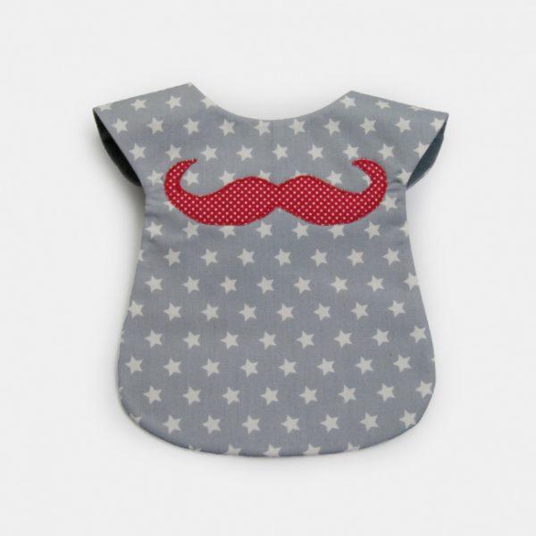 "Babetes ""bigode Mr Moustache"""