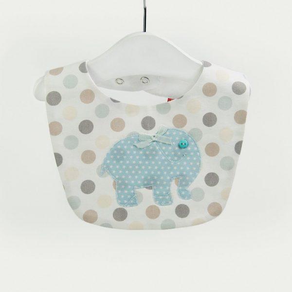 """Babetes para bebés """"Elefante"""" . Baby Bibs"""