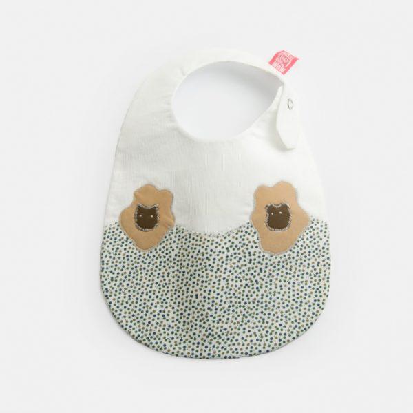 """Babete para recém-nascidos """"Ovelhas"""""""