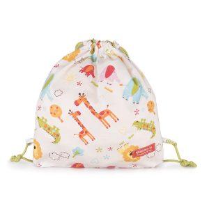 """Saco mochila para criança """"Selva"""" . Mochilas de lanche"""