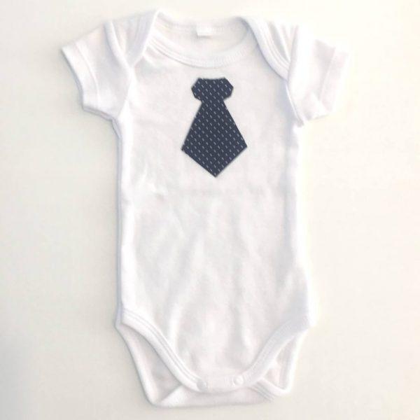 """Body para bebé """"Gravata Sr Executivo"""""""