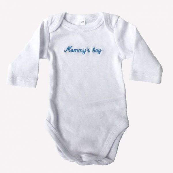 "Bodies para bebés ""Mommy's boy"""