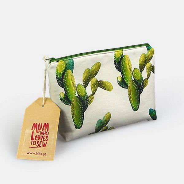 """Clutch em tecido para senhora """"Cactus"""""""