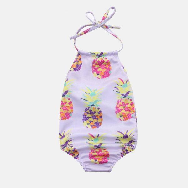 "Fato de banho para bebé modelo ""Ananases"""