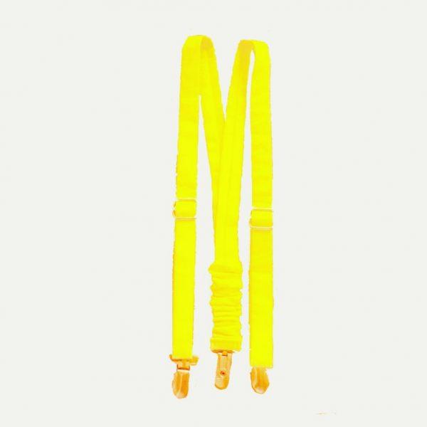 Suspensórios para cerimónia (Amarelo vivo)