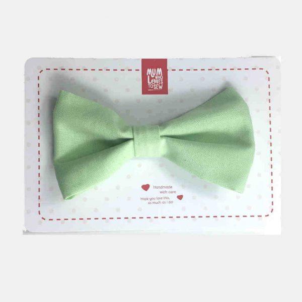Laços de pescoço (verde chá) . Papilons