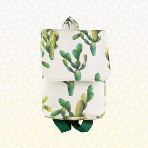 Mochila . Rucksac handmade original . Backpack Cactus