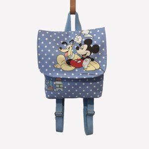 """Mochila para criança em tecido """"Mickey"""""""