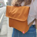 Mochila média impermeável . Backpack