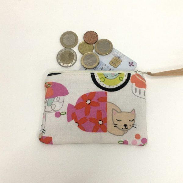 Porta máscaras, moedas e documentos 'Sushi'