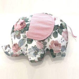 Brinquedo fofinho (Elefante flores)