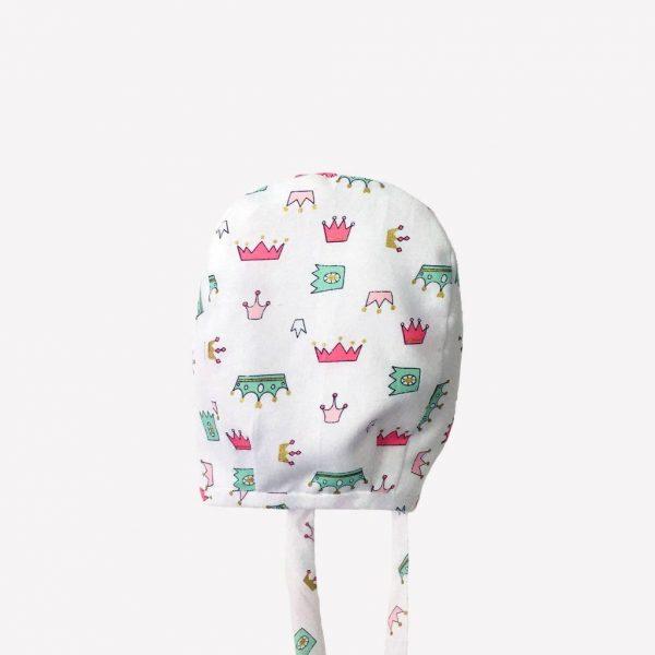 """Toucas para bebé e criança """"Princesa"""" . Baby bonnets"""