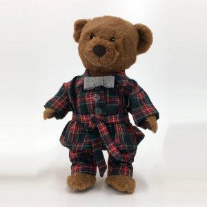 Ursinho fofo com pijama handmade