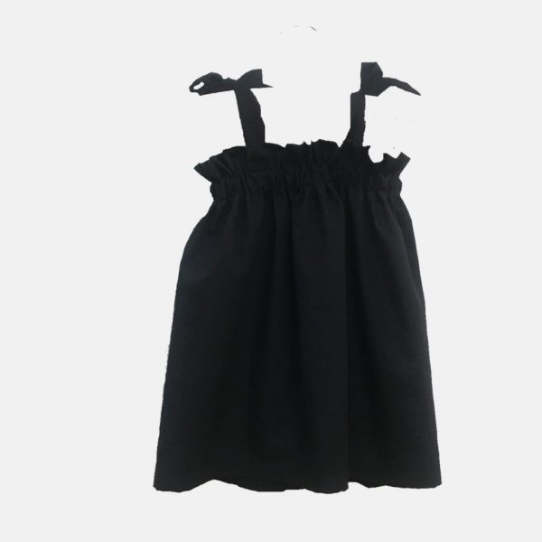 """Vestido de alças """"Carlota"""" . Top de verão para menina"""