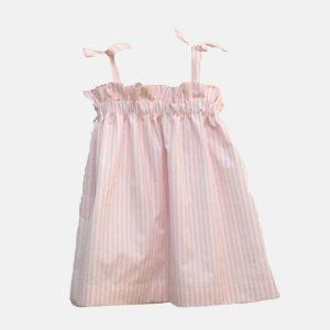 """Vestido de alças """"Alice"""" . Top de verão para menina"""
